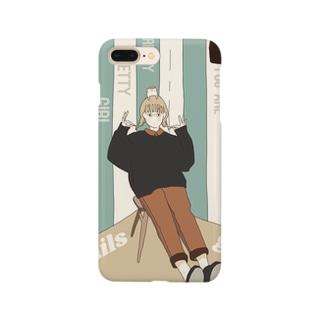 おさげ Smartphone cases