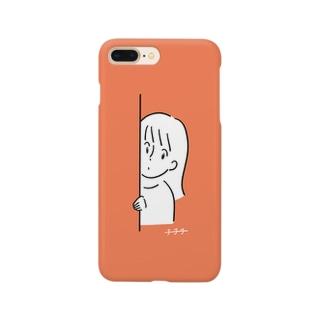 ひょっこりちゃん Smartphone cases