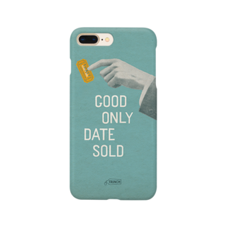 TRINCHのテアトルパピヨンの当日券(GOOD ONLY DATE SOLD) Smartphone cases