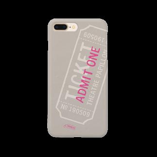 TRINCHのテアトルパピヨンの当日券 Smartphone cases