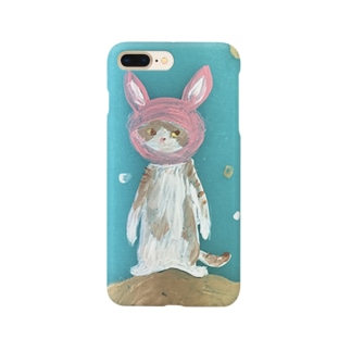 space travel cat Smartphone cases