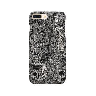 fuck京都iphoneケース Smartphone cases
