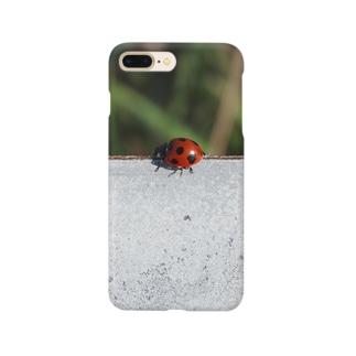幸せのテントウムシ Smartphone cases