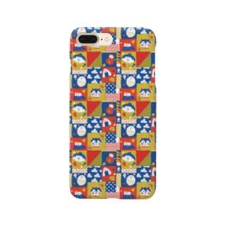 和風パターン Smartphone cases