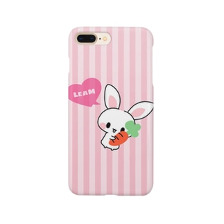 LeaM リクエストうさぎ Smartphone cases