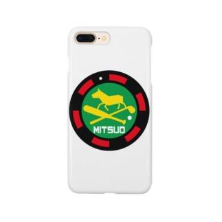 パ紋No.3365 MITSUO  Smartphone cases