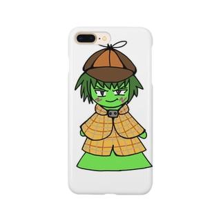 古墳探偵くん Smartphone cases