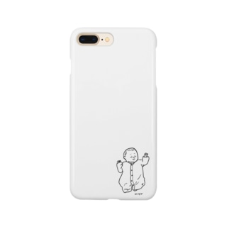 新生児(タレ目) Smartphone cases