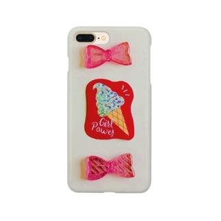 かわいいピンクたち Smartphone cases
