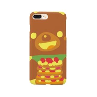 くまのおやつ Smartphone cases