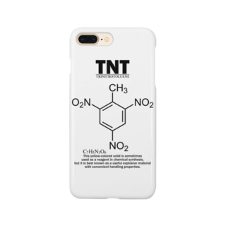 TNT(トリニトロトルエン:火薬・爆薬・爆発物):化学:化学構造・分子式 Smartphone cases