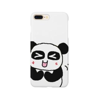 ぱんだかわいい Smartphone cases