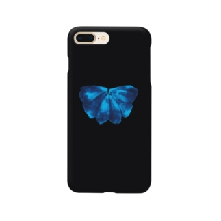 blue butterfly…? Smartphone cases