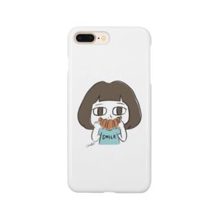 クロワッサン Smartphone cases