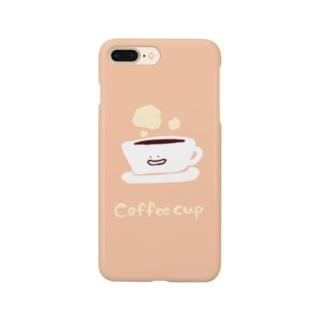 コーヒーカップちゃん Smartphone cases
