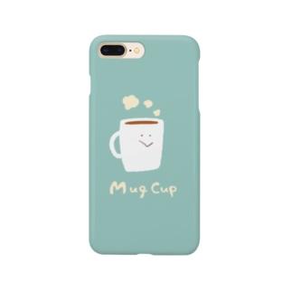マグカップさん Smartphone cases