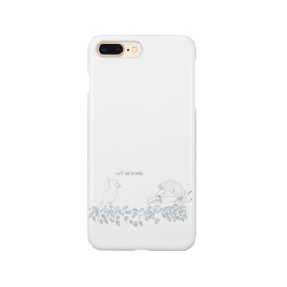 let's be friends Smartphone cases