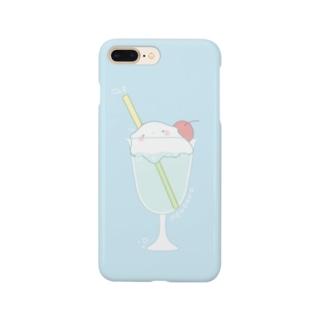 クリームソーダメンダコ Smartphone cases