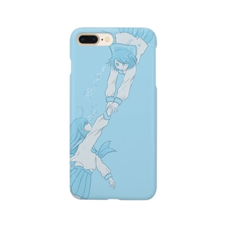 水の中の女の子 Smartphone cases