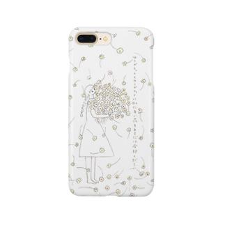 マーガレットとマーガレットに似た白い花をあるだけ全部ください Smartphone cases