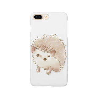 ハリネズミのポタ Smartphone cases