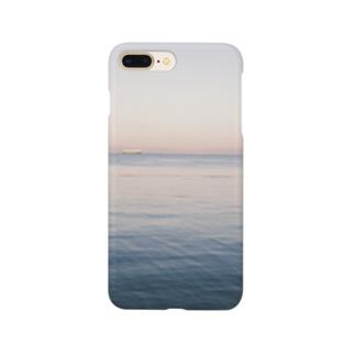 朝方の海 Smartphone cases