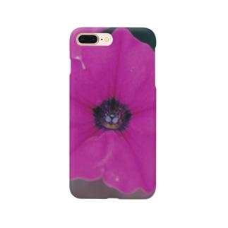 パープリッシュ ラヴ Smartphone cases