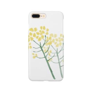 菜の花 Smartphone cases