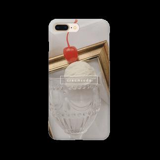 ▷            chiroruの🍨      cream soda Smartphone cases