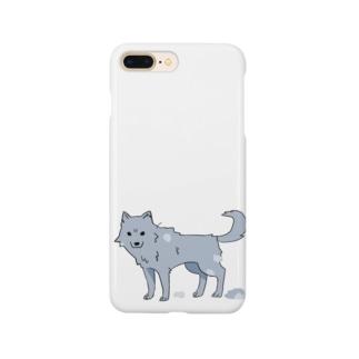 換毛期の犬ver2 Smartphone cases