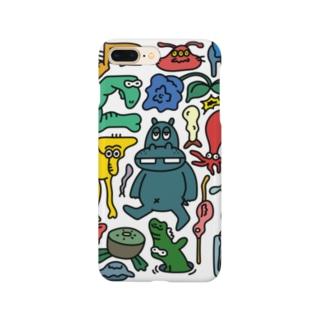 にぎやか カラー Smartphone cases