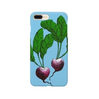サラダになるまえ Smartphone cases