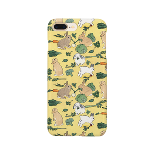 SCHINAKO'Sのお野菜大好きうさぎさん Smartphone cases