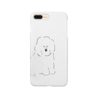 ふわふわビションフリーゼ Smartphone cases