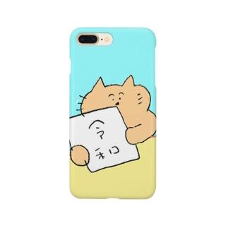 改元ねこ Smartphone cases