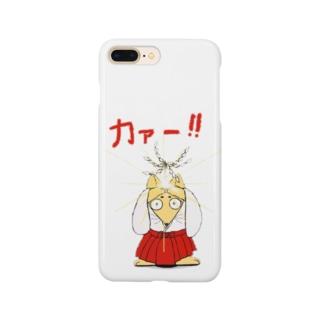 お祓い狐 Smartphone cases
