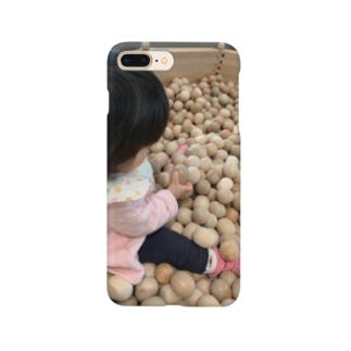 子供とボールと Smartphone cases