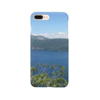 吸い込まれる青 Smartphone cases