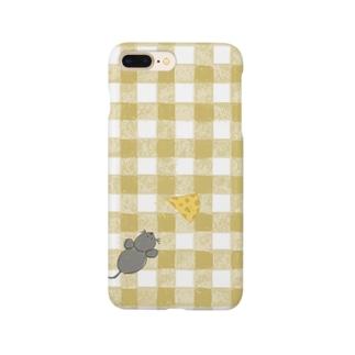 ねずみくん Smartphone cases
