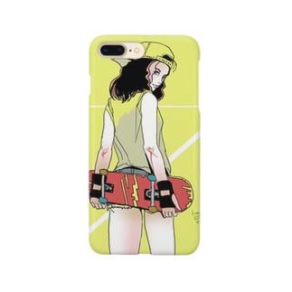 スケーターガール Smartphone cases