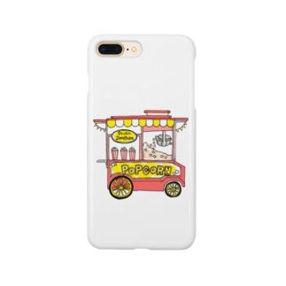 ポップコーンワゴン。 Smartphone cases