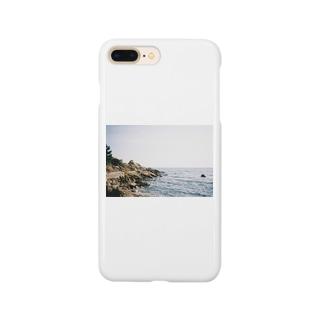 岩と海 Smartphone cases