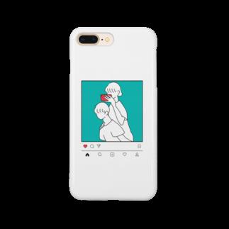 あうんのMorning in the Mirror1insta Smartphone cases