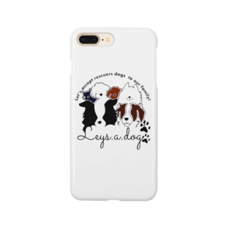 leys.a.dog〜チャリティーグッズ〜 Smartphone cases