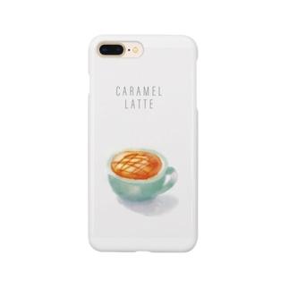 キャラメルラテさん Smartphone cases