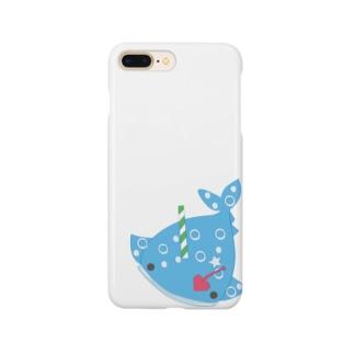 ソーダなジンベイさん(シンプルバージョン) Smartphone cases