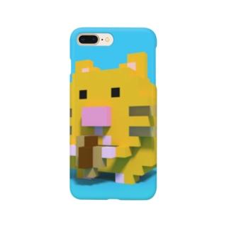 ピクセルキンクマハムスター Smartphone cases