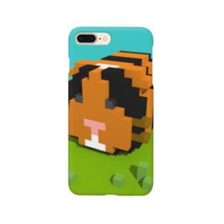 ピクセルモルモット Smartphone cases