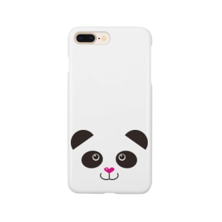 ぱんだフェイス Smartphone cases