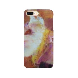 油絵 キャバゴン Smartphone cases